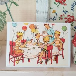 Children's birthday Party Card