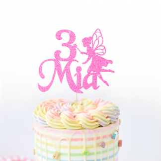 Personalised Fairy Cake Topper