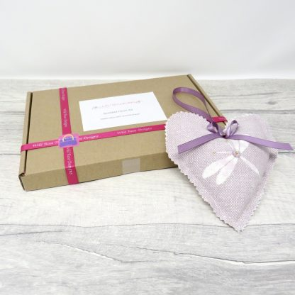 Lavender heart kit