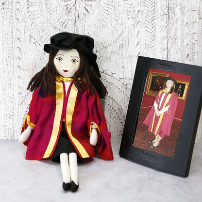 graduate doll with photo