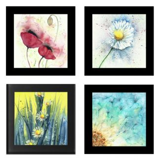 Floral Coasters - Summer