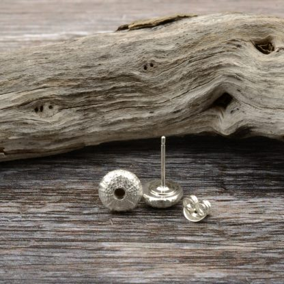 Baby urchin stud earrings
