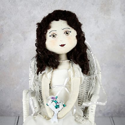 wedding doll close-up