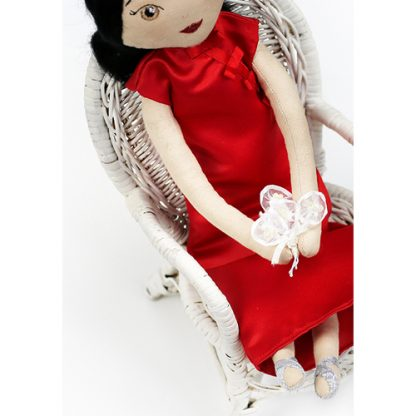 Bouquet of bridesmaid doll