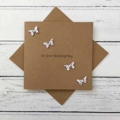 Crofts Crafts butterflies any occasion card