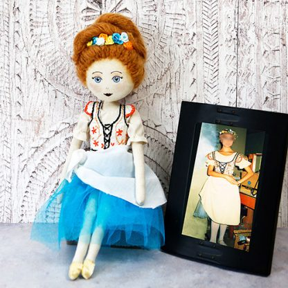Dancer special occasion doll