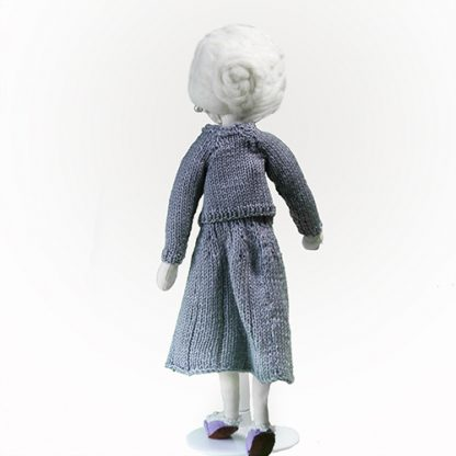 Grandmother memory doll rear view