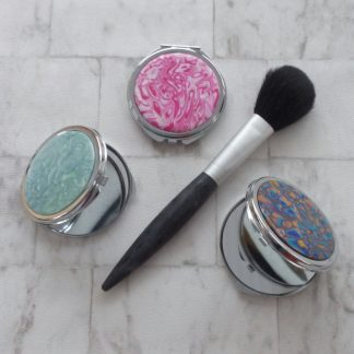 pocket handbag compact mirror
