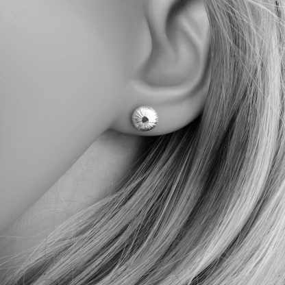 Baby sea urchin studs on model