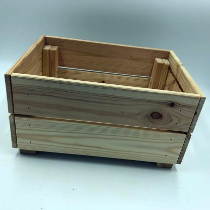 wooden crate - back