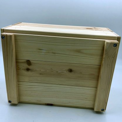 wooden crate base