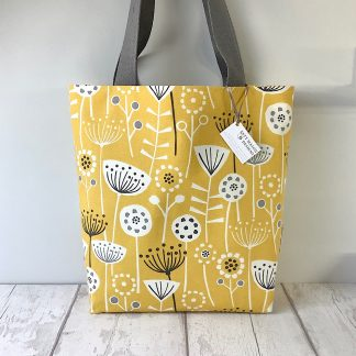 Tote Bag - Yellow Seedheads