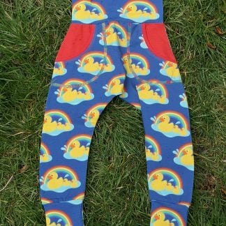 Bright baby leggings