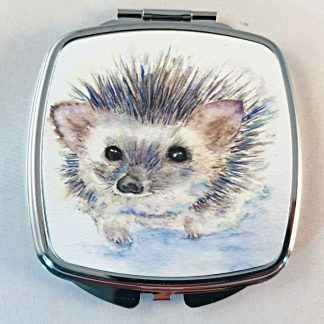 Mirror Compact featuring Hugo Hedgehog