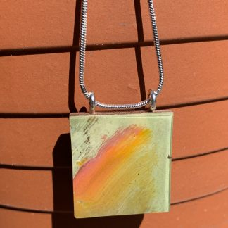 orange flash pendant