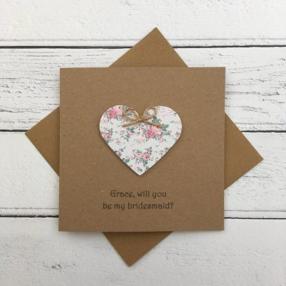 Crofts Crafts any occasion big floral or butterfly heart card