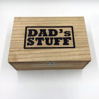 Wooden box for Dad
