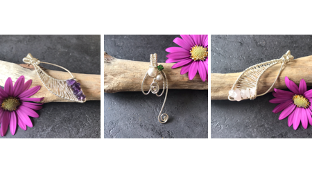 Jewellery handcrafted by Pauline