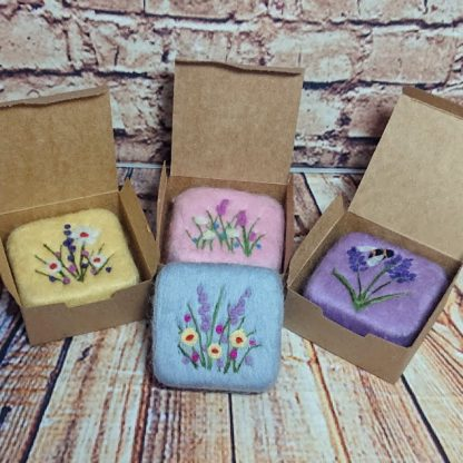 felted soaps boxed