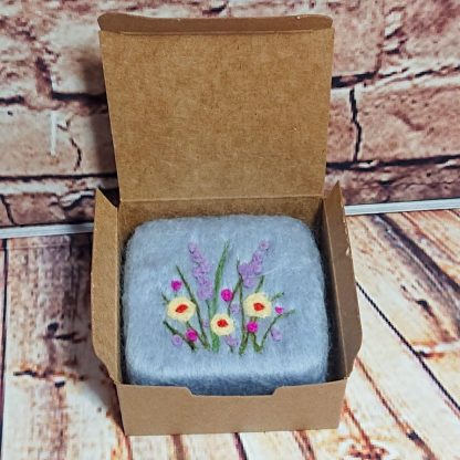 Fresh linen felted soap