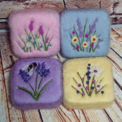 Felted soap selection