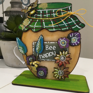 Wood bee honeypot