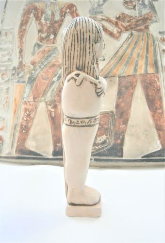 Ceramic reproduction Shabti Egyptian figure