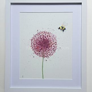Bumble Fizz Original Watercolour