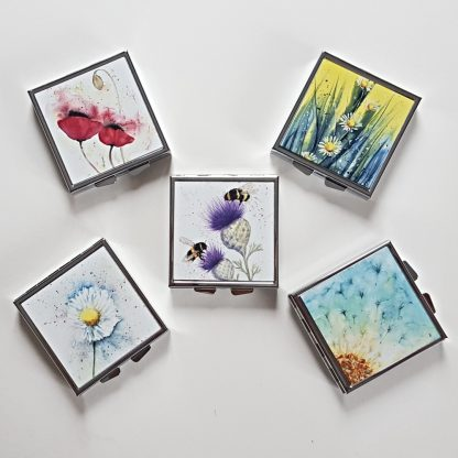 Selection of square pill boxes
