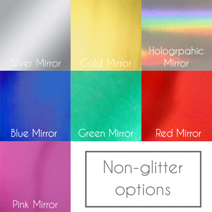 Cuckoo Lane Designs Mirror Colour Chart