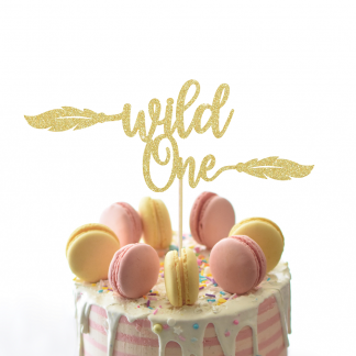 Wild One Cake Topper