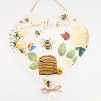 Save the Bees Heart