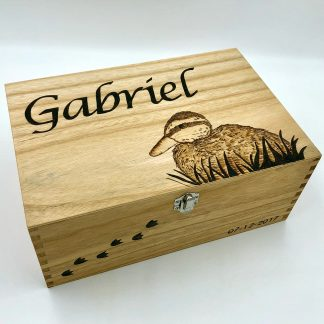 duck wooden box