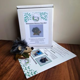 Hedgehog Needle Felt kit