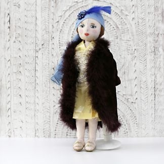 1920s Flapper doll in party clothes