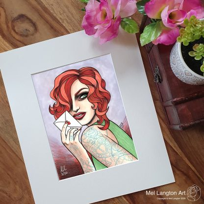 Dolly Parton inspired 'Jolene' limited edition giclee print by Mel Langton Art