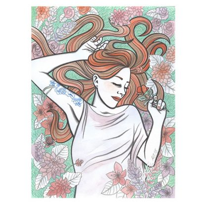 Lucy limited edition giclee print by Mel Langton Art