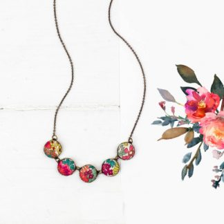 Liberty Print Necklace