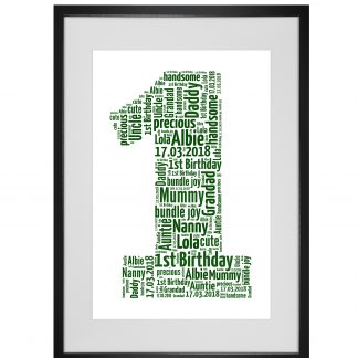 number word art