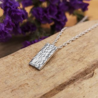 Handmade by Tamala presents Petite Pixie. A petite silver pendant for that someone who likes the minimalist look.