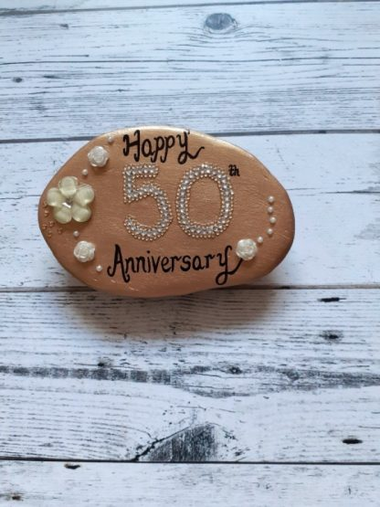 50th annivesary pebble