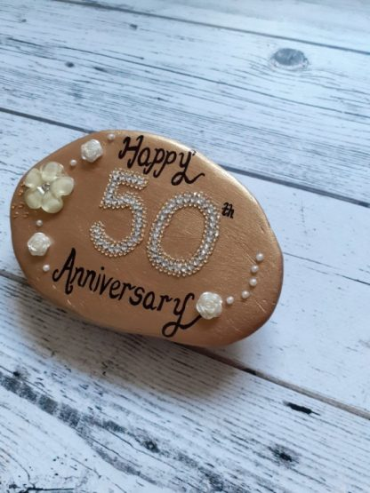 50th anniversary pebble