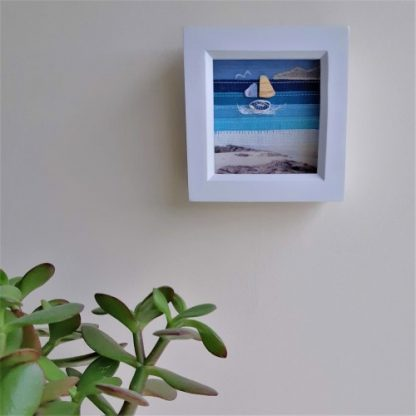 Small seascape on wall