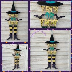 Witches Halloween decoration