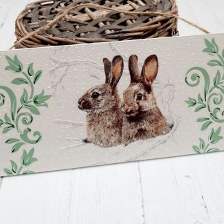 Baby Hares Plaque