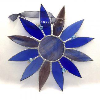 Stained Glass Moonflower