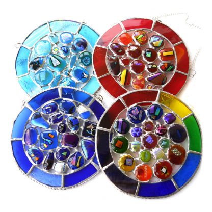 nugget ring stained glass suncatchero
