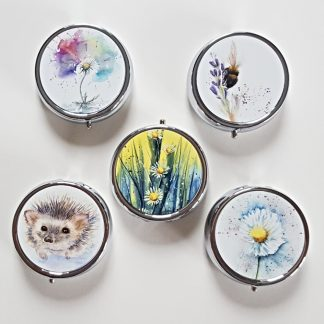 Selection of 5 pill boxes