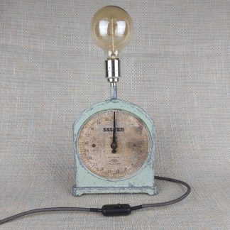 Salter weighing scales table lamp