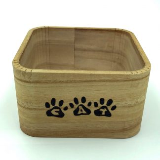 Cat Treat Storage Box
